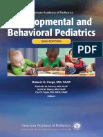 AAP Developmental and Behavioral Pediatrics 2nd Edition