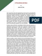 A Presciência de Deus - Arthur W. Pink.pdf