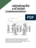 understanding the basics of verbal communication (week 5)