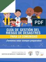 GUÍA DE GESTIÓN DE RIESGOS DE DESATRES PARA LA COMUNIDAD-1