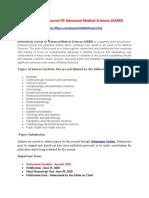 International Journal OF Advanced Medical Sciences (IJAMS)