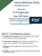 Statics Lecture No 5 uet peshawar mechanical engineering