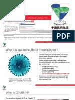 COVID-19 Presentation
