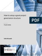 How to setup a good project governance structure