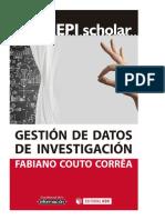 Gestión de datos de investigación