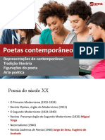 Poetas Contemporâneos