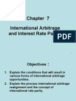 Lecture 8(Chapter7)- International arbitrage and interest rate parity.ppt