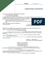 Conditional sentences exercises