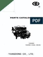 Genima ED4W-YD90-Serie-Spareparts-Catalog