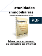 Ideas Para Promover su Inmueble en Internet