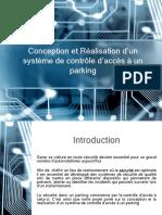 Conception et Réalisation d'un système de contrôle d'accès