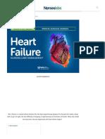 Heart Failure Nursing Care Management_ A Study Guide