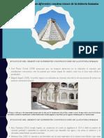 Evolución del cemento en diferentes construcciones de la historia humana