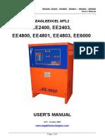Manual Cargadores EAGLETRONIC