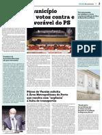 Notícia publicada no Jornal Mais Semanário 03.06.2020