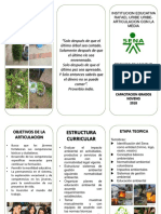 folleto tecnico en manejo ambiental