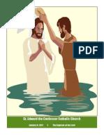 St. Edward the Confessor Catholic Church Weekly Bulletin - January 9, 2011