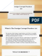 The Foreign Corrupt Practices Act BY ca vijay kumar garg