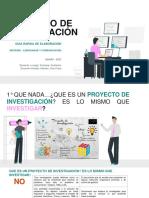 GUIA DE ELABORACION de proyectos de investigación-UDEMM