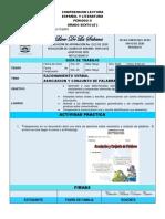 GUIA DE COMPRENSION LECTORA. 6°