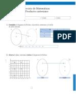 Evaluación plano cartesiano