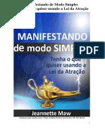 LDA - Livro - Jeannette Marrow - manifestando facilmente