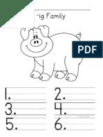 I Word Family Folder Set