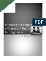 Company Of Heroes Manual Pdf