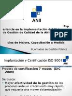 Presentacion ANII III Jornadas Gestión Pública
