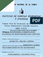 NOCIONES BÁSICAS  DE SOCIEDADES