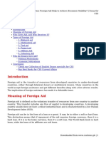 Does Foreign Aid Help to Achieve Economic Stability_ _ Essay for CSS