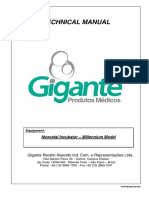 Manual Técnico Incubadora GRN - Modelo Millennium - Dumian