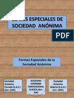 Clases Especiales de Sociedad Anónima