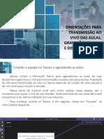 Tutorial - Aula com Teams e Publicação no AVA_v1.1 (1) (1)