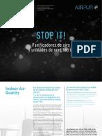 202005 Soler y Palau Catálogo Purificadores de Aire y Unidades de Ventilación Airpur
