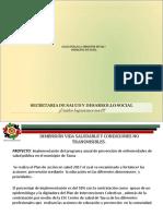 Presentacion II INFORME DE GESTION SALUD
