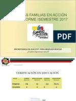 Rendición Semestre I-2017 MAF