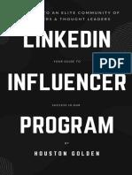 BAMF LinkedIn Influencer Program