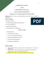 Cours Sur Les Français Regionaux