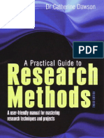 A Practical Guide to Research Methods