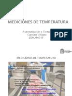 Mediciones de Temperatura