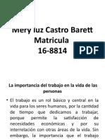 Mery luz Castro Barett exposicion psicologia industria