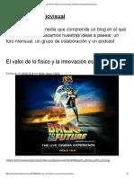 El valor de lo físico y la innovación escénica _ Innovación Audiovisual