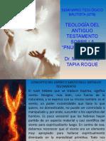DIAPOSITIVAS SOBRE LA TEOLOGIA DEL A.T. SOBRE LA PNEUMATOLOGÍA (2020)ENVIO 2