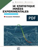(Grenoble Sciences) Konstantin Protassov - Analyse Statistique Des Données Expérimentales-EDP Sciences (2002)