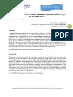 CORPOREIDADE E IDENTIDADE, O CORPO NEGRO COMO ESPAÇO.pdf