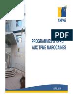 ANPME Escales Des Managers Rabat 16 Avril