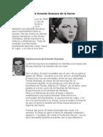 Breve Biografa de Ernesto Guevara de La Serna