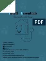 Intell Essentials Business Plan