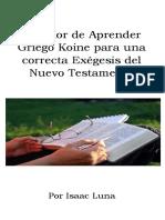 Copia de El Valor de Aprender Griego par una correcta exégesis del Nuevo Testamento.docx